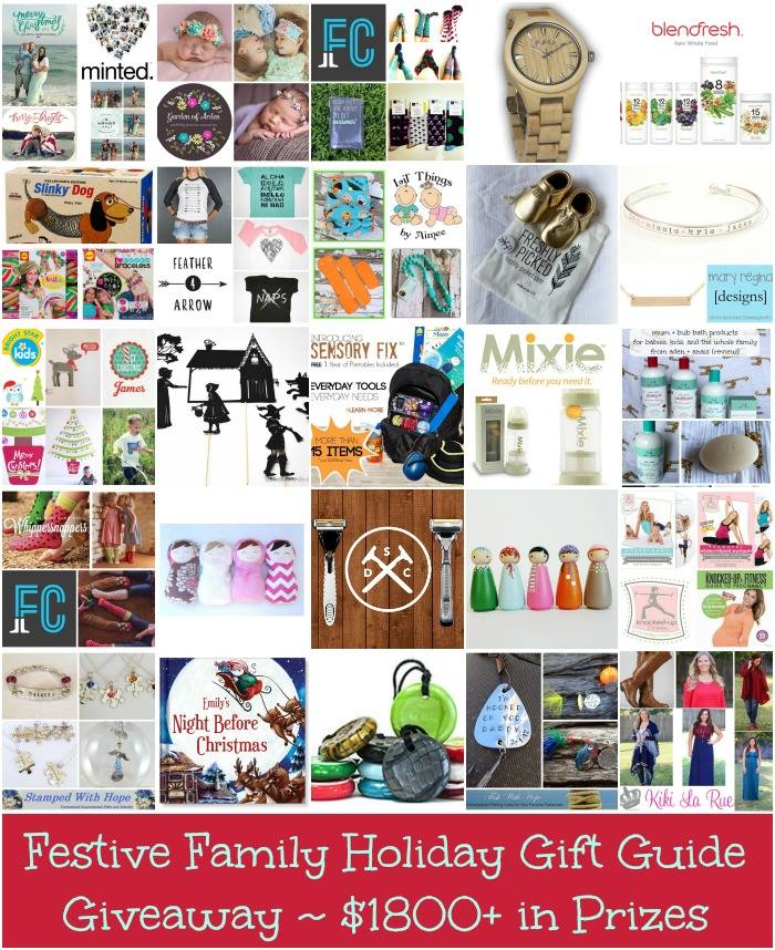 Festive Family Holiday Gift Guide and Giveaway valued at $1800 in prizes | Kids Yoga Stories