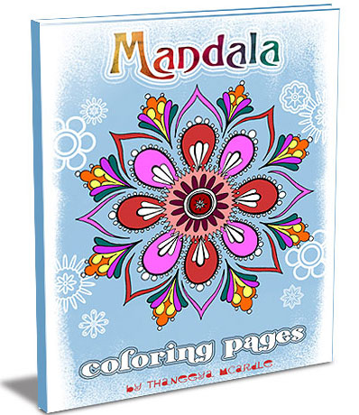 Mandala Coloring Pages by Art is Fun