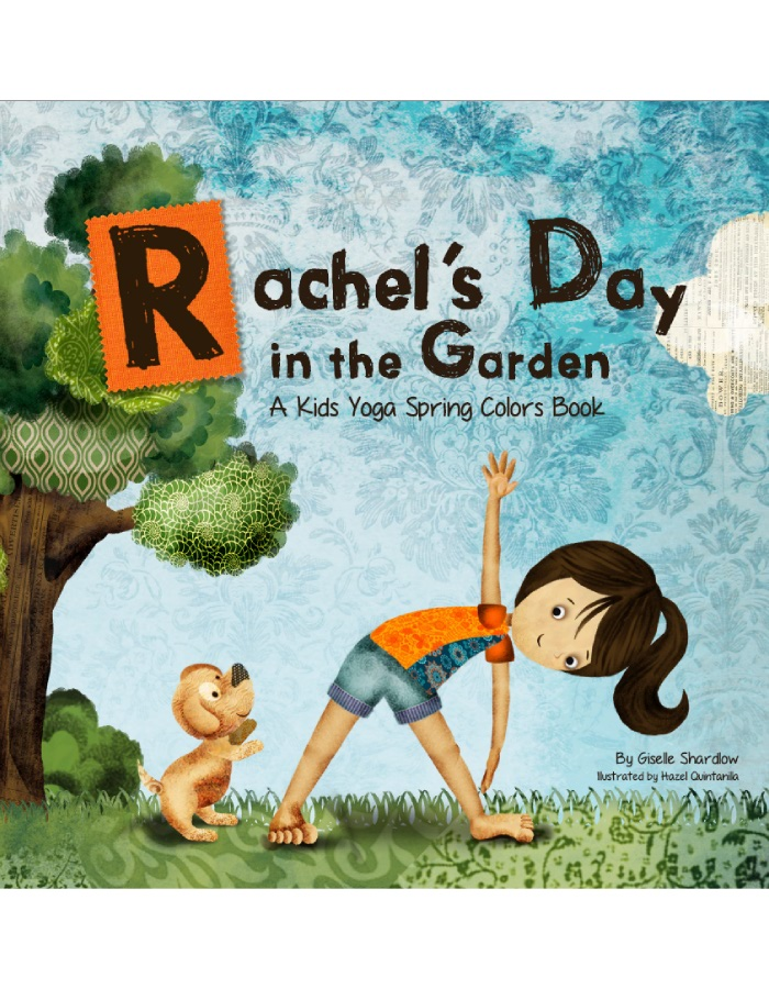 Rachel's Day in the Garden yoga book
