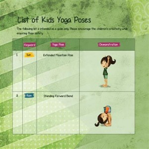 Rachel's Day in the Garden spring yoga story by Kids Yoga Stories