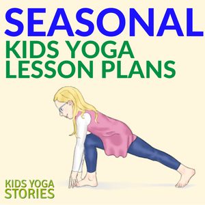 Collection of year-round Seasonal Kids Yoga Lesson Plans and Coloring Pages | Kids Yoga Stories