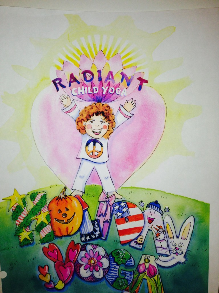 Holiday Kids Yoga Lesson Plan eBook by Shelley Arthur and Shakta Khalsa of Radiant Child