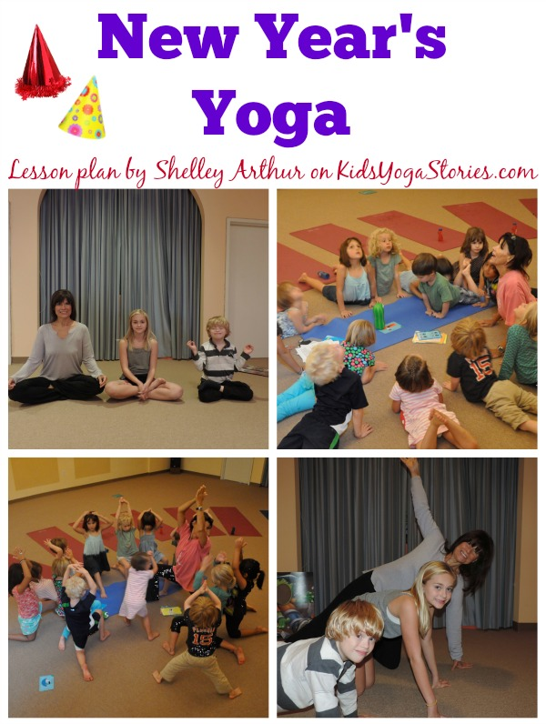 New Year Yoga sequence | Kids Yoga Stories