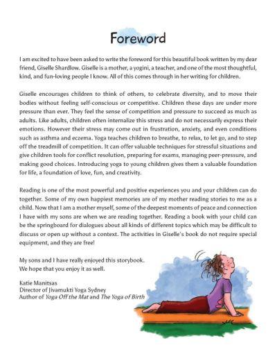 Anna Yoga Sample Page Image