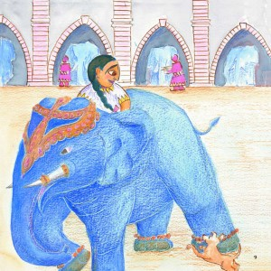 Munna and the Grain of Rice (Indian Folktale)
