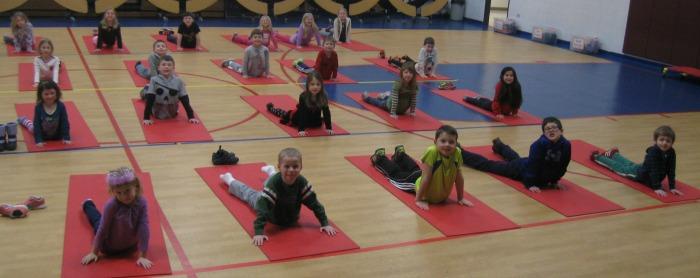 Cobra Pose by Jodi's class