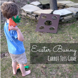 Easter Bunny Toss Game
