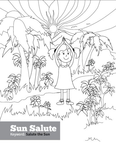 yoga coloring pages halloween free - photo#27