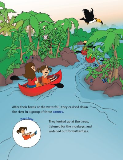 Sophia's Jungle Adventure by Kids Yoga Stories