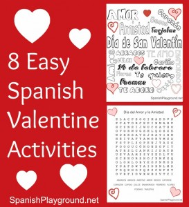 8 Easy Spanish Valentine Activities | Spanish Playground