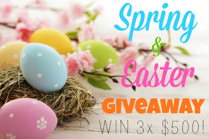 Spring and Easter Kid Blogger Network Giveaway