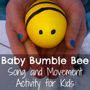 Spring song and movement activity for kids