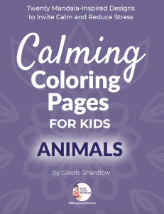 Calming-Coloring-Pages for Kids | Kids Yoga Stories