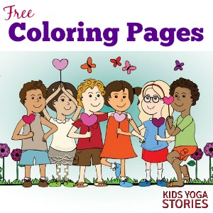 Coloring Pages for Kids | Kids Yoga Stories - Yoga Books, Yoga ...