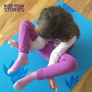 Flower Pose by Kids Yoga Stories