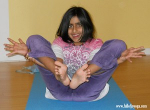 Flower Pose by Full of Joy Yoga