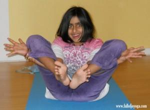 Flower Pose by Full of Joy Yoga