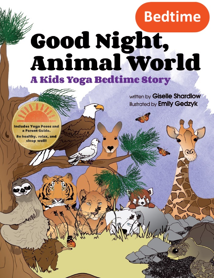 good night animal world kids yoga stories - Animal Pictures For Toddlers