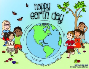 Happy Earth Day from Kids Yoga Stories