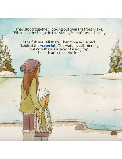 Jenny's Winter Walk by Giselle Shardlow, Kids Yoga Stories