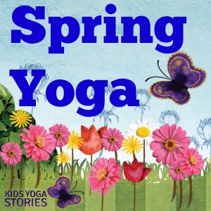 spring yoga theme ideas including breathing technique yoga pose and 3 yoga pose - Spring Pictures For Kids