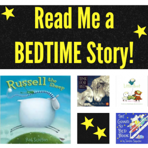 Read me a bedtime story | Growing Book by Book