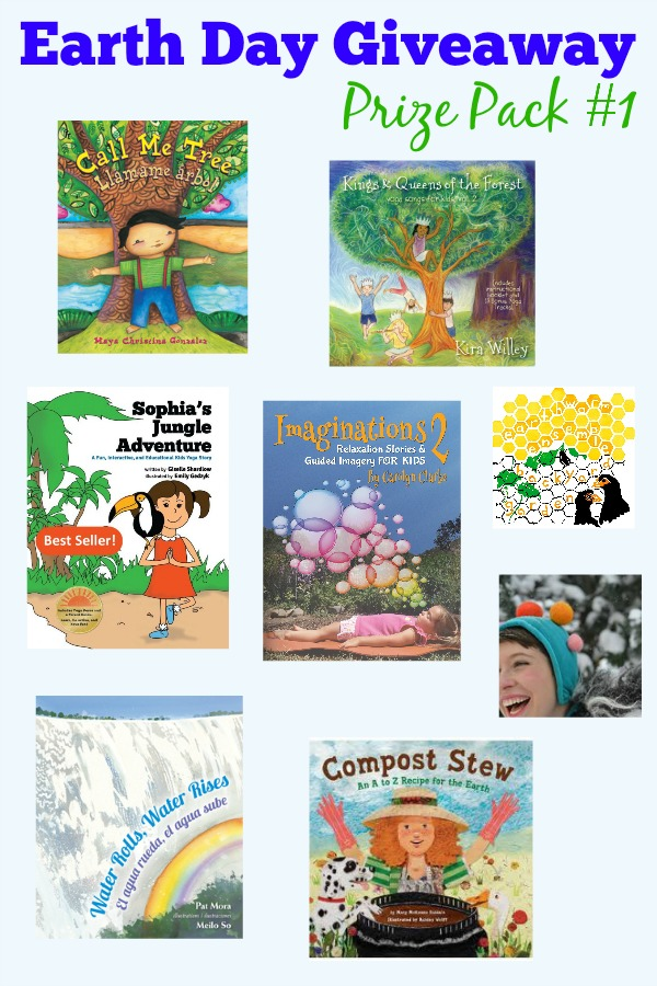 Earth Day Giveaway | Kids Yoga Stories