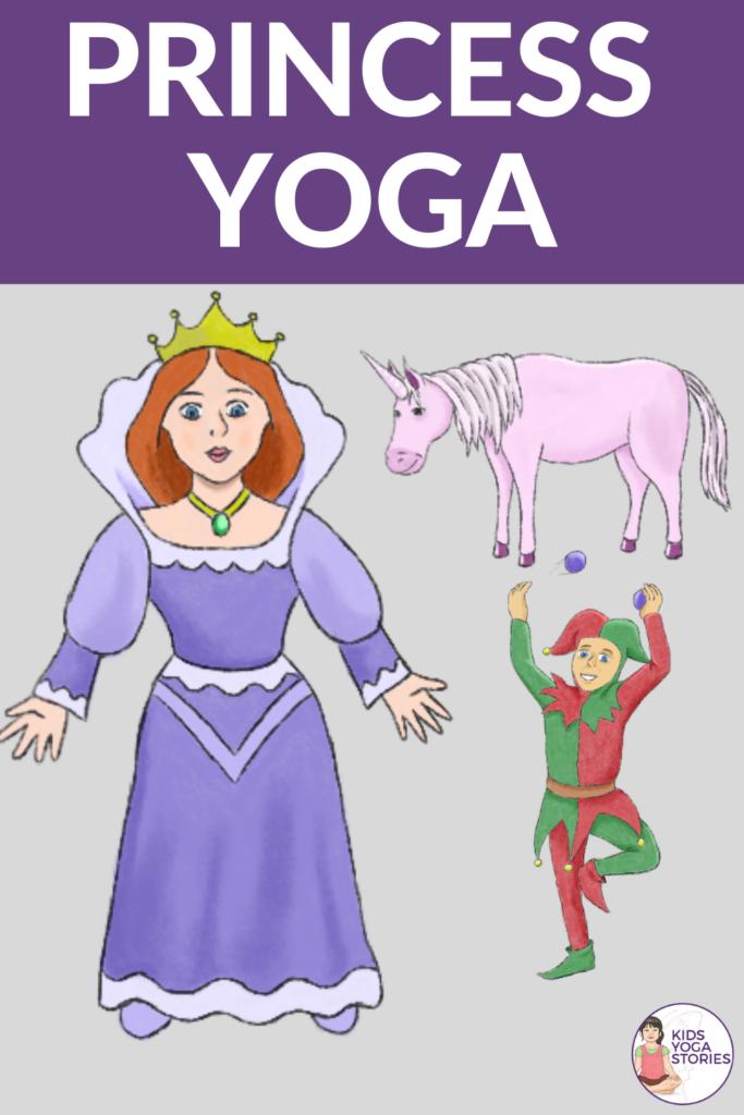 princesses yoga - 8 yoga poses for kids | Kids Yoga Stories
