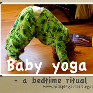 Baby Yoga- a bedtime ritual   Kids Play Space