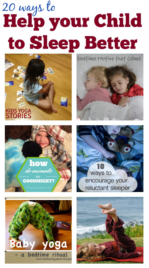 How to Get your Child to Sleep Better (20+ ways from moms)   Kids Yoga Stories