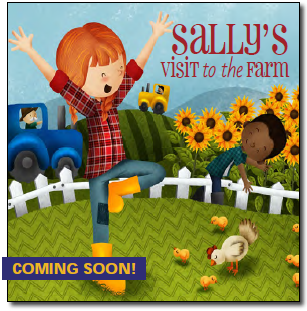 Sally's Visit to the Farm | Kids Yoga Stories