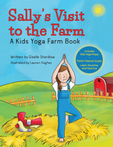 Sally's Visit to the Farm yoga book | Kids Yoga Stories