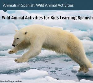 Animal in Spanish: Wild Animal Activities   Spanish Playground