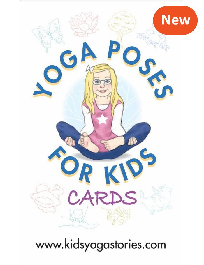 Yoga Poses for Kids Cards that Make Learning Yoga Fun [Press Release