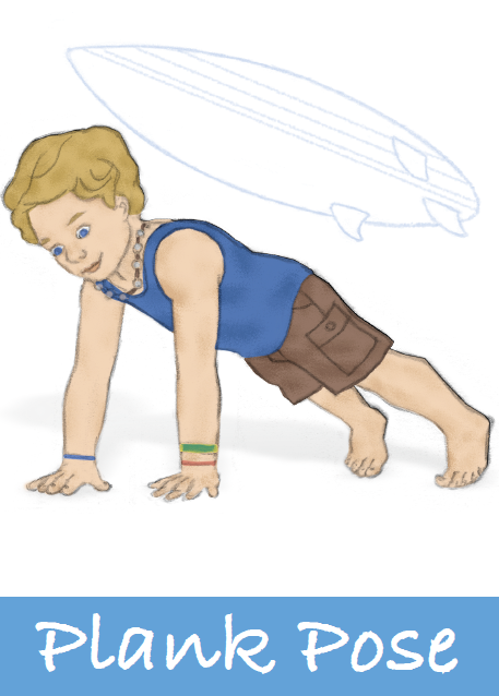 Plank Pose for kids | Kids Yoga Stories