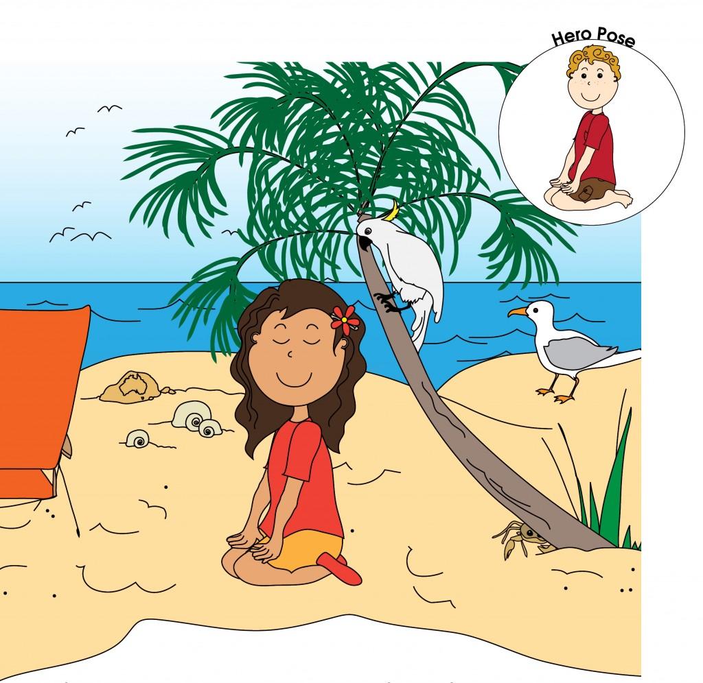 Hero Pose - Luke's Beach Day