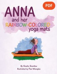 Anna and her Rainbow-Colored Yoga Mats PDF Download (English) Image