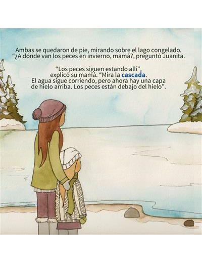 Juanita en una caminata invernal (Spanish) Image