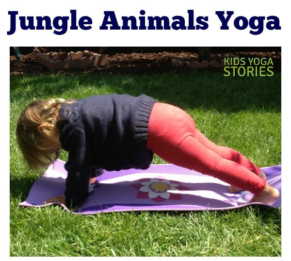 Jungle Animal Yoga for Kids | Kids Yoga Stories
