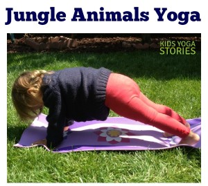 Jungle Animal Yoga for Kids | Kids Yoga Stories