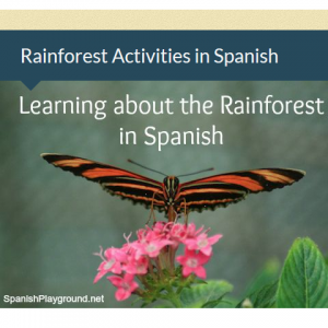 Rainforest activities in Spanish | Spanish Playground