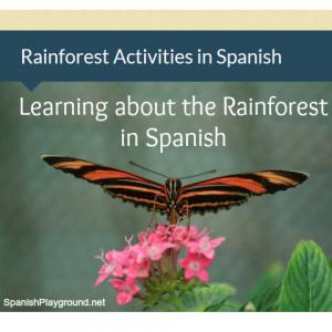 Rainforest activities in Spanish | Spanish Playground