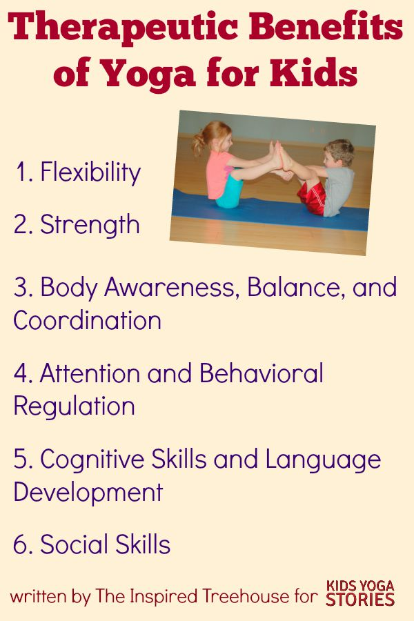 Classroom Exercise Ideas ~ Therapeutic benefits of yoga for kids stories