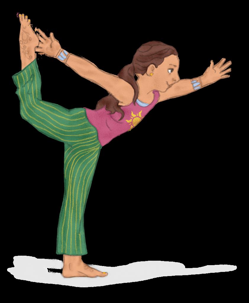 2 Dancers Pose Pretend To Be A Gymnast
