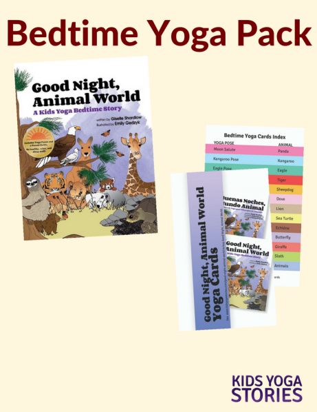 Bedtime Yoga Pack (English) - Kids Yoga Stories
