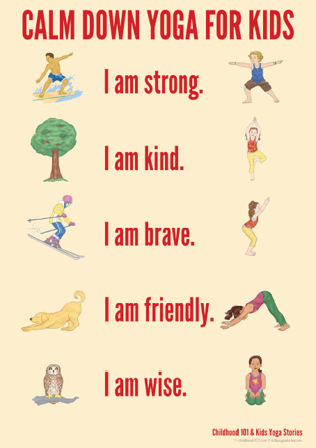 Calm Down Yoga for Kids   Kids Yoga Stories