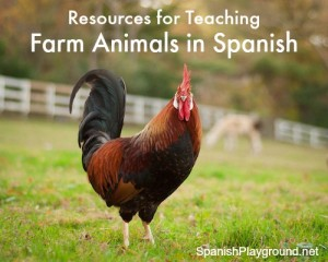 Farm Animals in Spanish | Spanish Playground