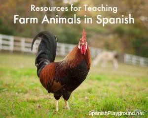 Farm Animals in Spanish | Spanish Playground
