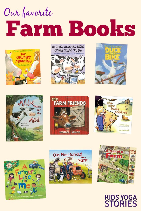 Farm Books for Kids | Kids Yoga Stories