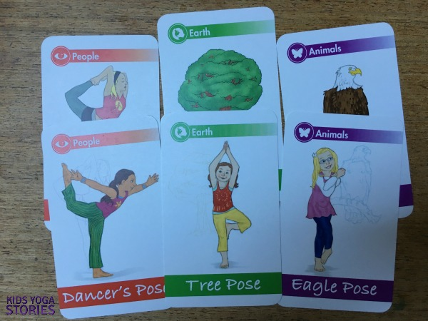 How To Play With Yoga Cards For Kids Printable Poster Kids Yoga Stories Yoga Resources For Kids